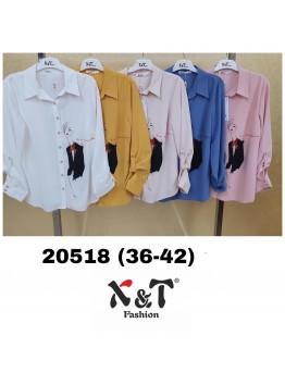 Блузки женские X&T Fashion 20518 (36-42)