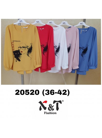 Блузки женские X&T Fashion 20520 (36-42)