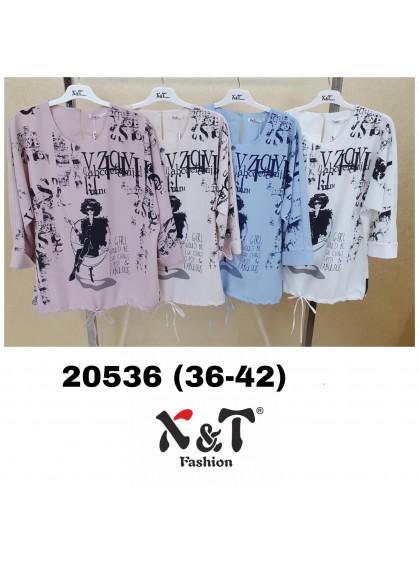 Блузки женские X&T Fashion 20536 (36-42)